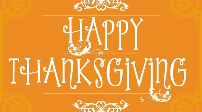 Happy Thanksgiving 2016 from CFEF!