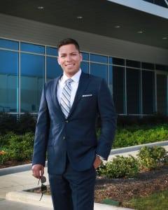 Scholarship Recipient David Claros