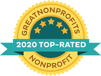 2020 Top-Rated Award from Great Nonprofits